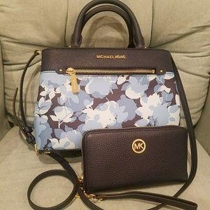 new set wallet+bag $500 current 2018 collection